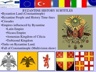 BYZANTINE HISTORY SUBTITLES