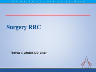 Surgery RRC