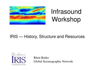 Rhett Butler Global Seismographic Network