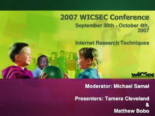 2007 WICSEC Conference