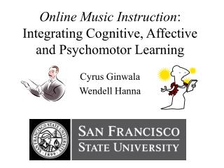 Online Music Instruction: Integrating Cognitive