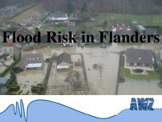 Flood Risk in Flanders