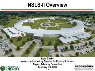 NSLS-II Overview
