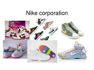 Nike corporation