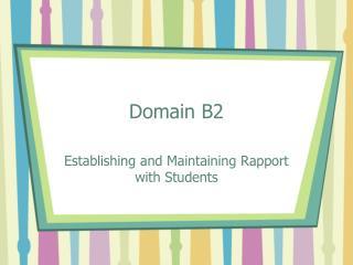 Domain B2