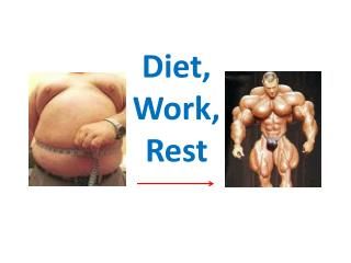 Diet, Work, Rest