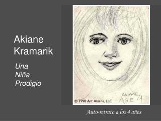 Auto-retrato a los 4 años