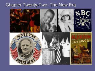 Chapter Twenty-Two: The New Era