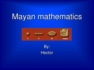 Mayan mathematics