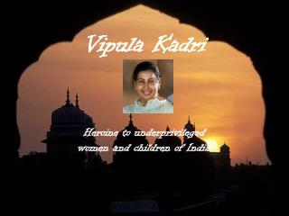 Vipula Kadri