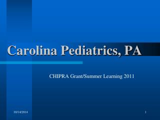 Carolina Pediatrics, PA