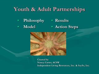 Youth & Adult Partnerships