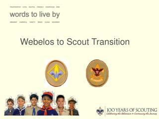 Webelos to Scout Transition