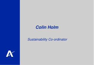 Colin Holm