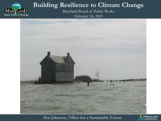 Zoë Johnson, Office for a Sustainable Future