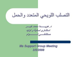 .             Ms Support Group Meeting 3