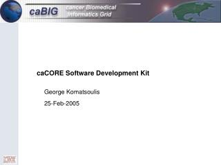 caCORE Software Development Kit