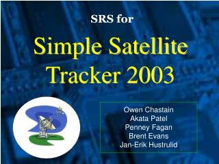 Simple Satellite Tracker 2003