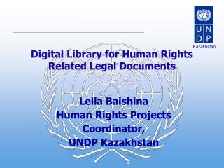 Digital Library for Human Rights Related Legal Documents hrc.nabrk.kz