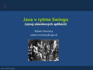 Java v rytme Swingu (vývoj okienkových aplikácií)