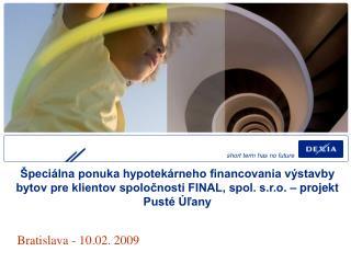 Bratislava - 10.02. 2009