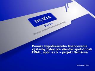 Dexia – 03 2007