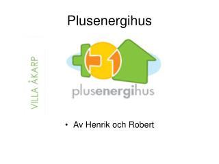 Plusenergihus