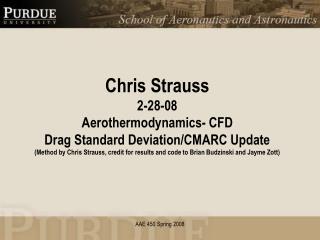 Drag Coefficient Standard Deviation