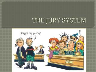 the jury system today Jury service is one of the most important civic duties you can perform the protection of rights and liberties in federal courts largely is achieved through the.