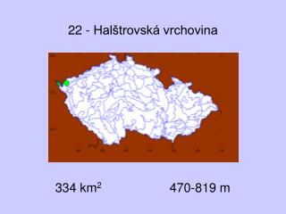 22 - Halštrovská vrchovina