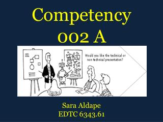 Competency 002 A