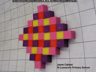 The use of NRICH to promote creativity and communication in mathematics.