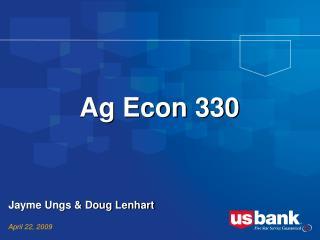 Ag Econ 330