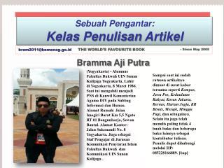 Bramma Aji  Putra