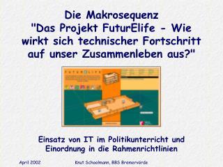 Einsatz von IT im Politikunterricht und Einordnung in die Rahmenrichtlinien
