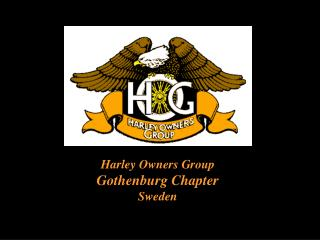 Harley Owners Group Gothenburg Chapter Sweden