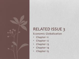Related Issue 3
