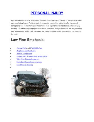 Whiteford Personal Injury Lawyer  Harford County Personal In