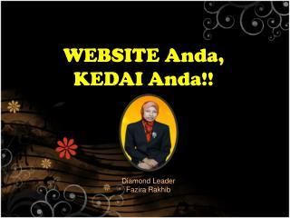 WEBSITE Anda, KEDAI Anda!!