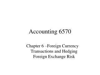 Accounting 6570