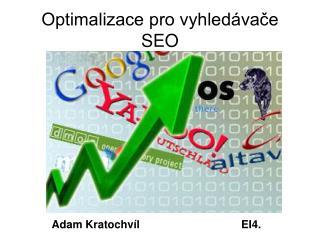 Optimalizace pro vyhledávače SEO