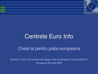 Centrele Euro Info