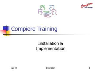Compiere Training