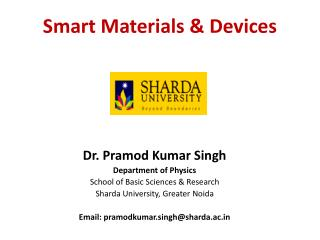 Smart Materials & Devices