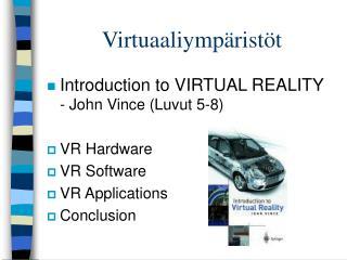Virtuaaliymp rist t