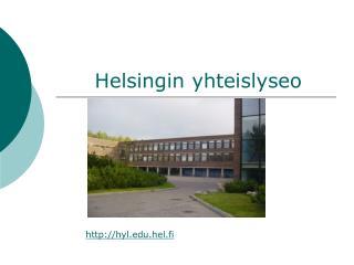 Helsingin yhteislyseo