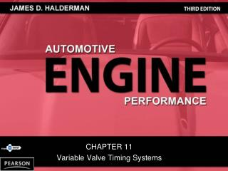 CHAPTER 11 Variable Valve Timing Systems