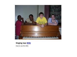Singing Jays  Wiki