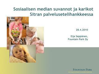 Sosiaalisen median suvannot ja karikot Sitran palvelusetelihankkeessa