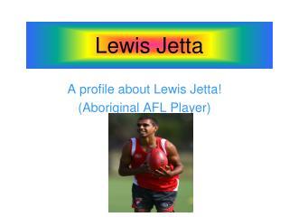 Lewis Jetta